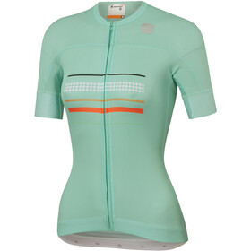 Sportful Diva Short Sleeve Jersey Women, acqua green